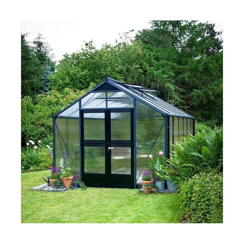 Serre De Jardin 10,9 M² Aluminium En Polycarbonate 10Mm serapportantà Serre De Jardin Jardiland