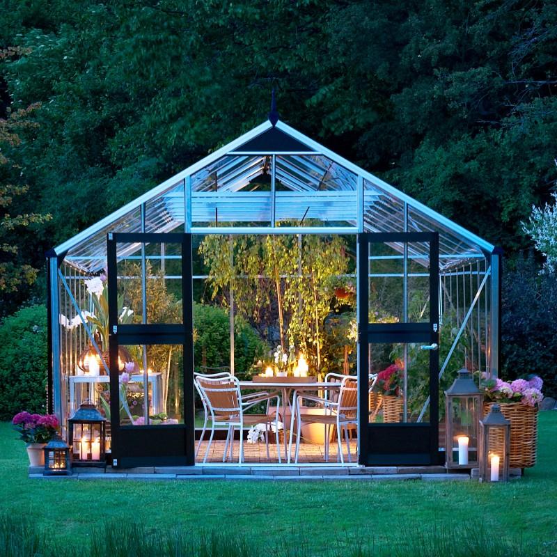 Serre De Jardin 18,8M² En Verre Horticole Gardener Juliana avec Serre De Jardin Jardiland