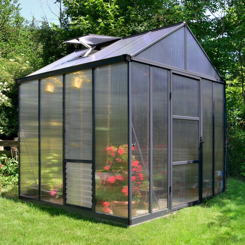 Serre De Jardin 5,9M² En Polycarbonate 10Mm Glory Premium encequiconcerne Serre De Jardin Jardiland