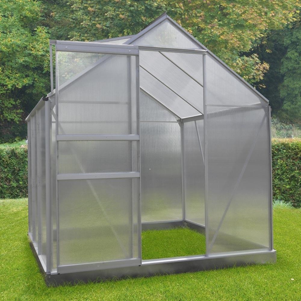 Serre De Jardin Diamant ® 46 Polycarbonate intérieur Serre De Jardin Jardiland
