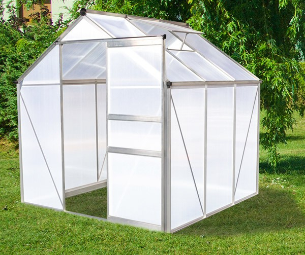 Serre De Jardin En Polycarbonate 3,65 M² avec Serre De Jardin Jardiland