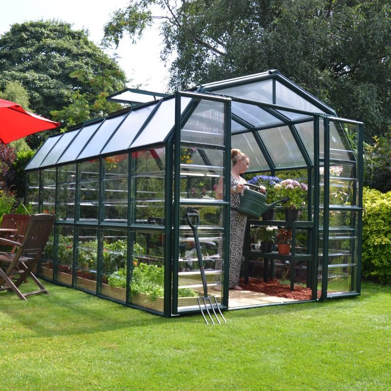 Serre De Jardin En Pvc Et Polycarbonate 10,39M² Grand encequiconcerne Serre De Jardin Jardiland