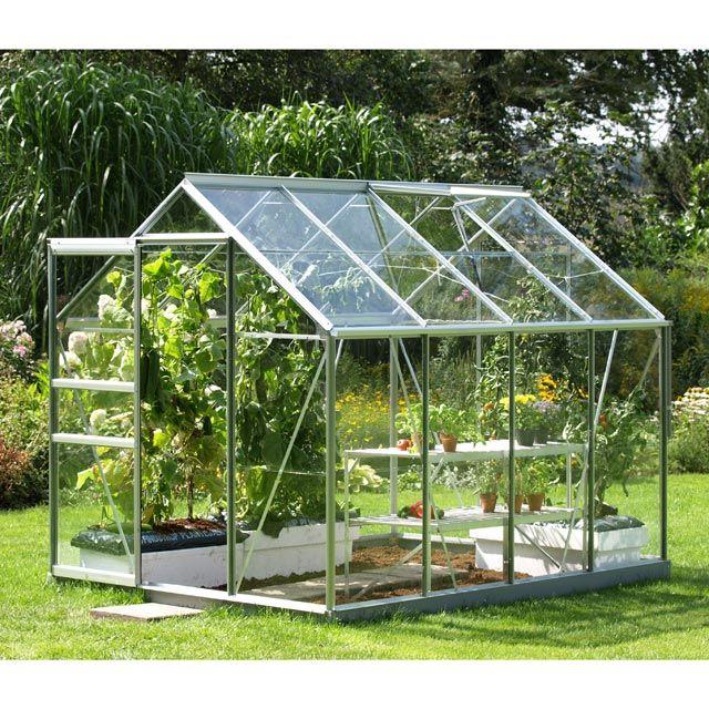 Serre En Verre 5000 5 M² Pas Cher - Serre Castorama destiné Petite Serre De Jardin Pas Cher