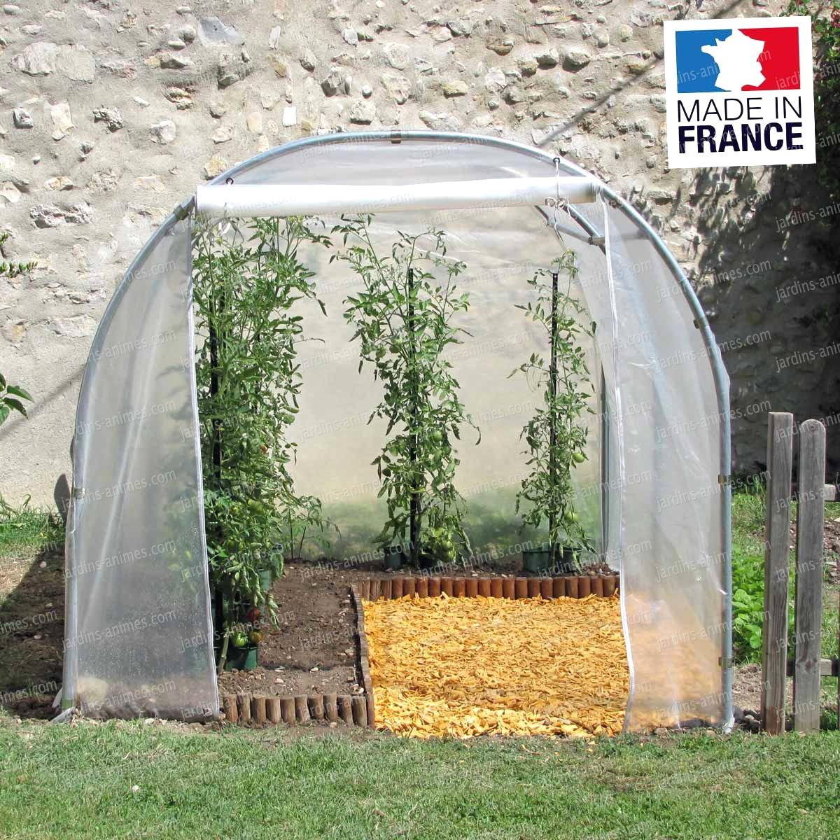 Serre Tunnel 2M X 3M Richel Serre Jardin Avec Serre Tunnel pour Abri De Jardin 2X3