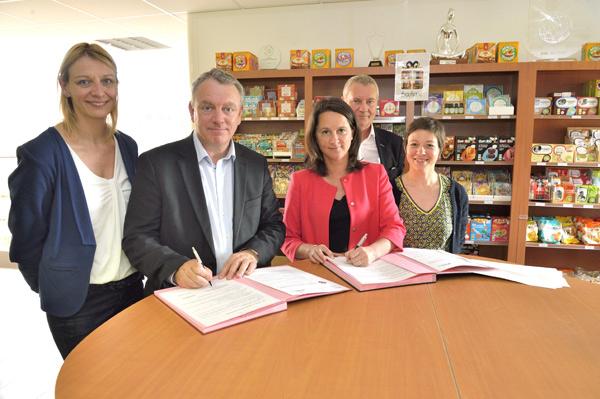 Signature D'une Convention De Partenariat Entre Nantes dedans Chambre Des Métiers Nantes