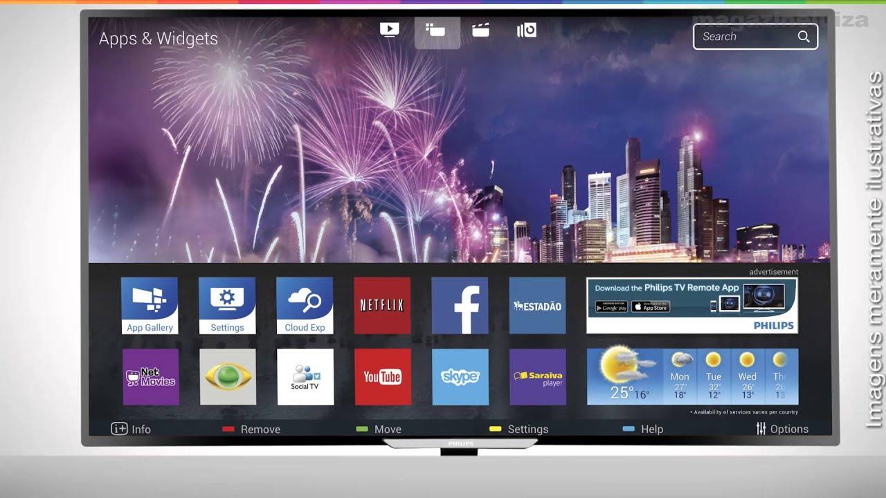 "Smart Tv Slim Led 40"" Philips 40Pfg5509 Full Hd concernant Tv But"