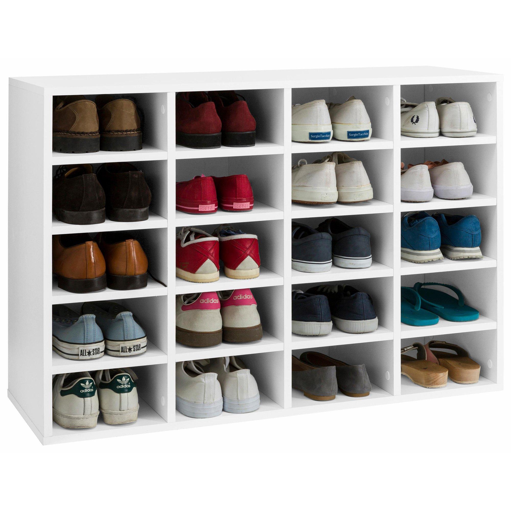 [Soldes] -30% Sur Le Meuble Étagère Range-Chaussures 20 dedans Grand Meuble Chaussure