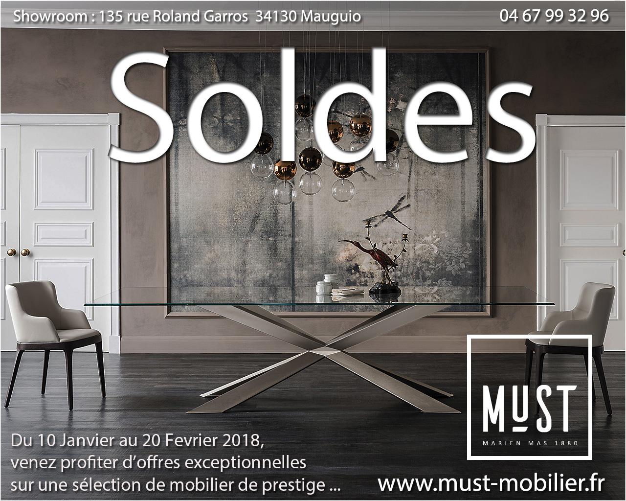 Soldes D'hiver 2018 | - Must Mobilier intérieur Magasin Meuble Montpellier