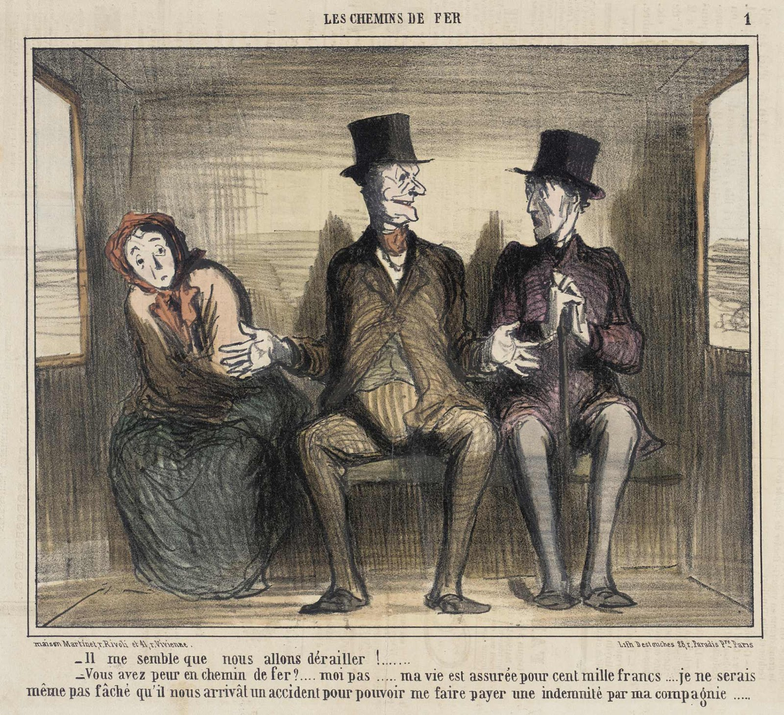 Spencer Alley: Cartoons And Caricatures By Honoré Daumier à Le Charivari
