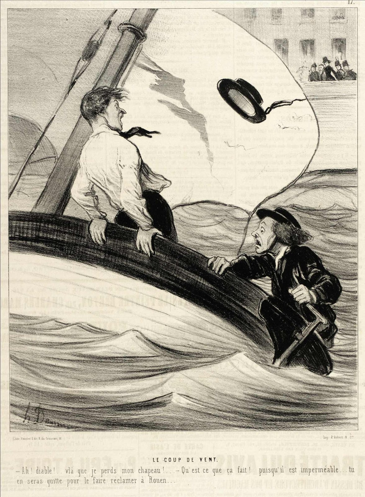 Spencer Alley: Cartoons And Caricatures By Honoré Daumier serapportantà Le Charivari