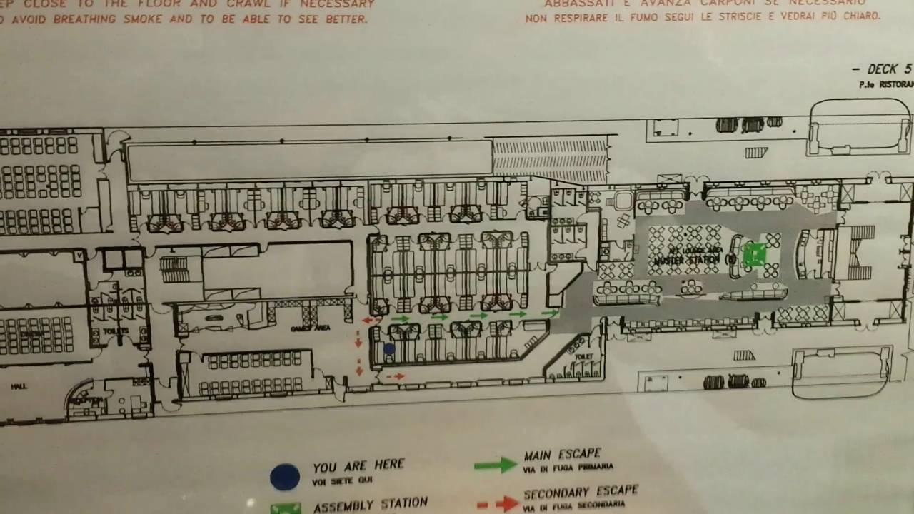 Stena Line, Deck Plan Stena Line Horizon, Deck Plan Stena intérieur Plan