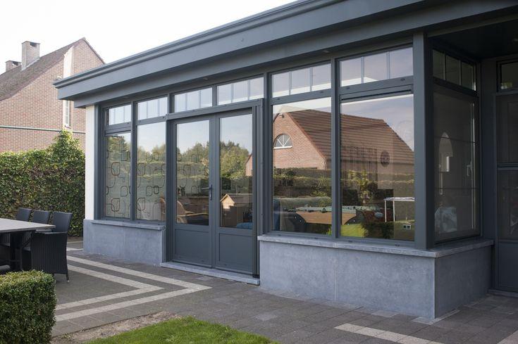 Stijlvolle Veranda Met Arduin   Bruynseels-Vochten   Idées intérieur Pavillon De Jardin 4 Saisons