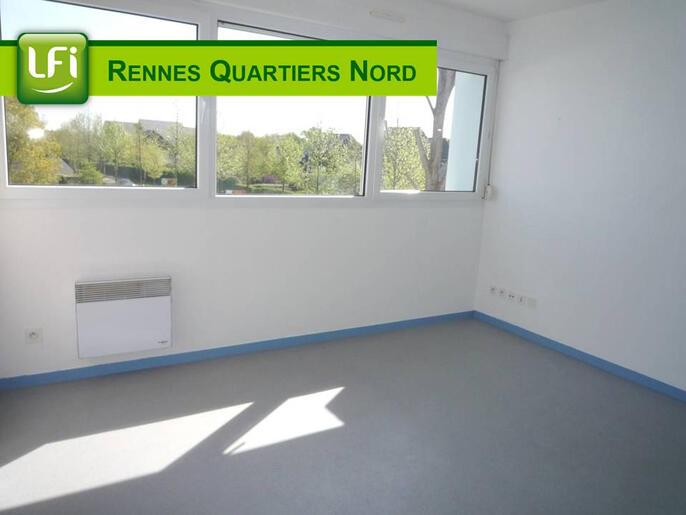 Studio À Louer 18 M² Rennes Beaulieu (35000) : Location à Location Meublée À Rennes