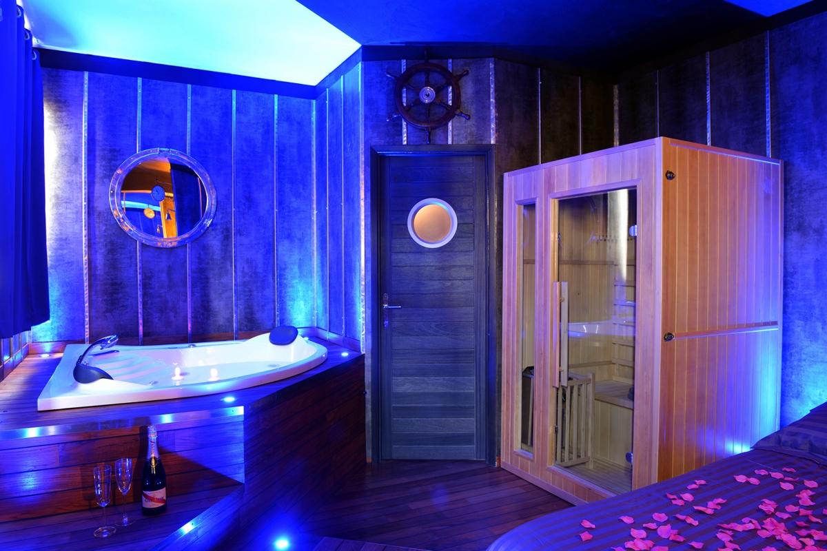 Suite Ambiance Yacht, Avec Spa, Lyon - Introuvable avec Chambre Avec Jacuzzi Privatif Rhone Alpes