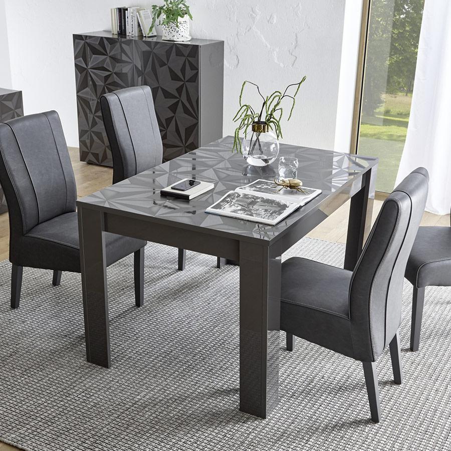 Table À Manger Avec Rallonge, Table De Salle A Manger Pas Cher concernant Table Salle À Manger Design Pas Cher