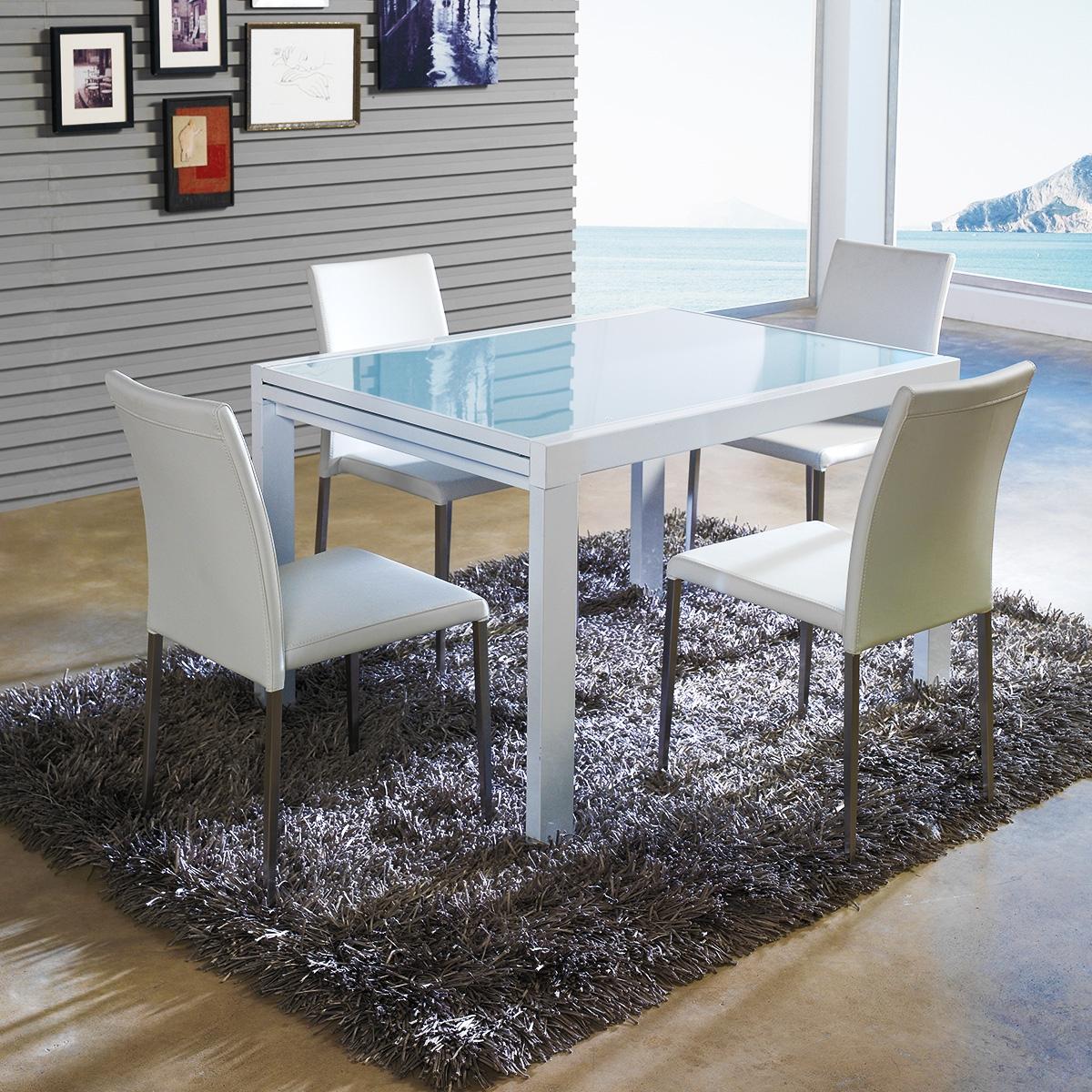 Table A Manger Avec Rallonge - Zendart Design intérieur Table A Manger Design