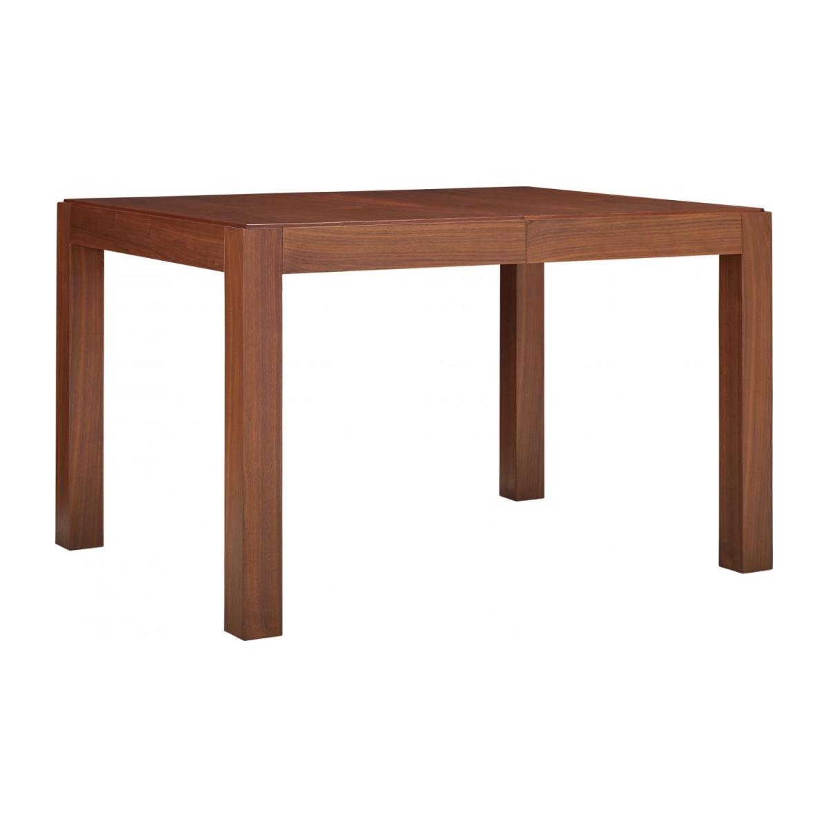 Table À Manger Avec Rallonges - Noyer dedans Table Salle À Manger Habitat