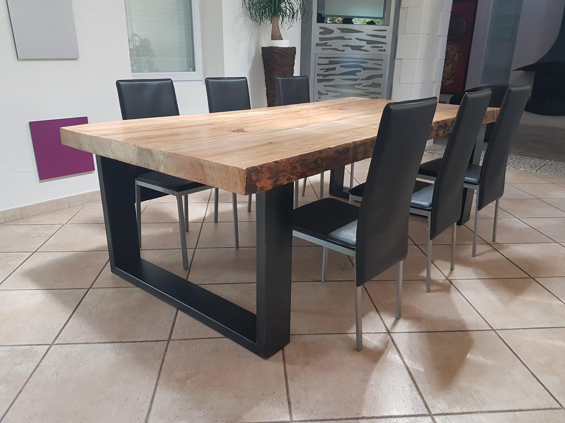 Table A Manger Rustique Pas Cher pour Table Salle À Manger Design Pas Cher