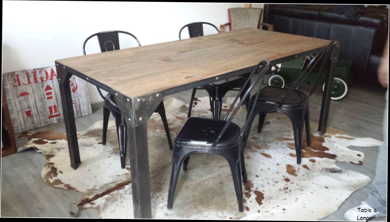 Table Basse Industrielle Pas Cher Table De Salle A Manger pour Table Salle À Manger Design Pas Cher
