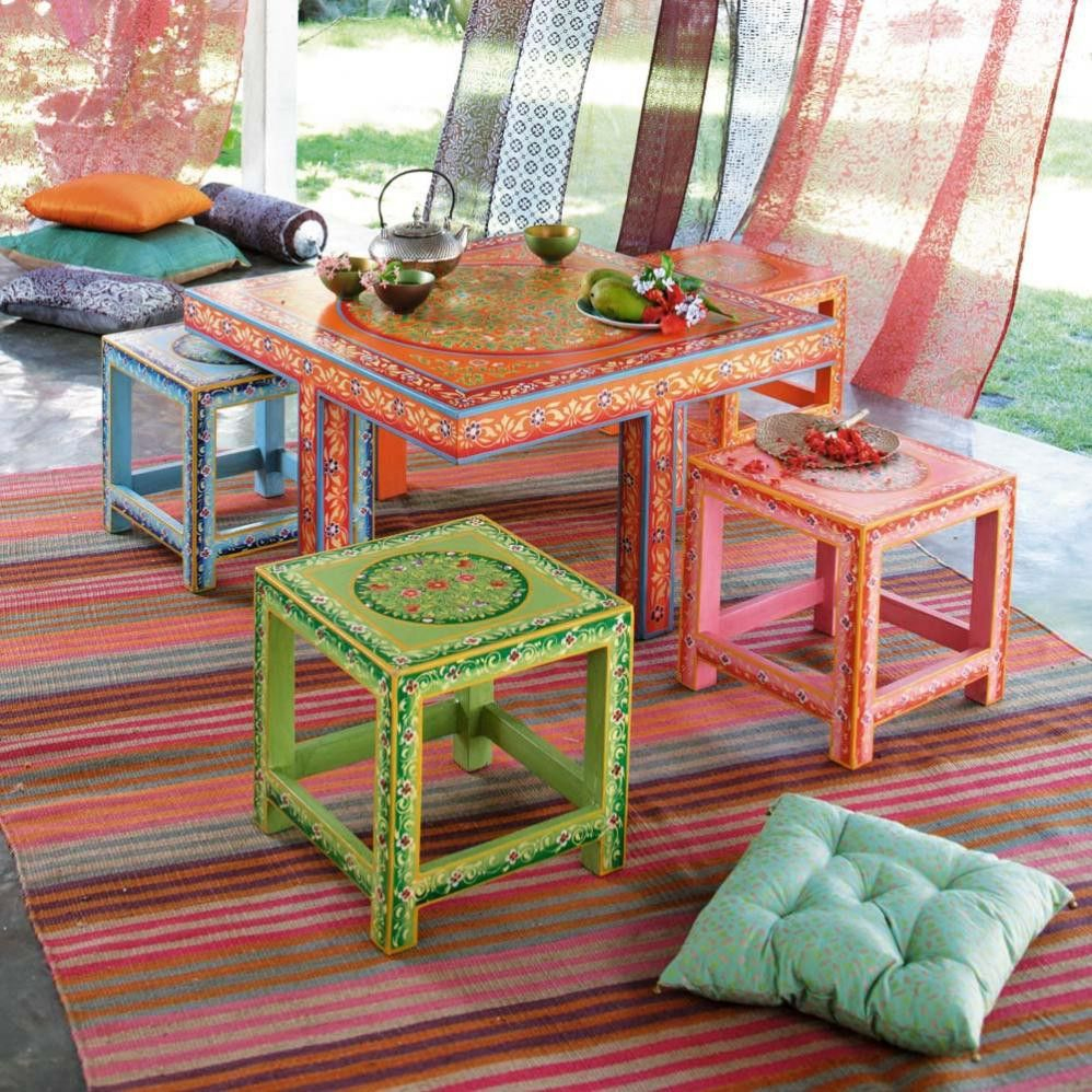 Table Basse Roulotte   Maisons Du Monde   Exotique dedans Salon De Jardin Maison Du Monde