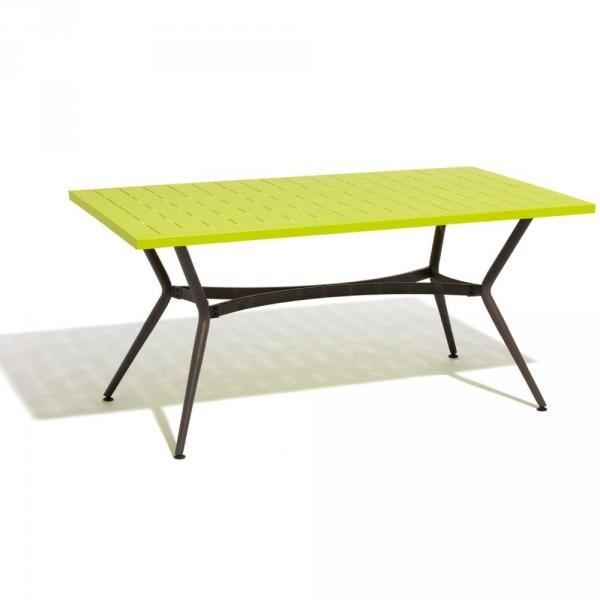 Table De Jardin 4 Personnes Verte - Table / Chaise / Salon à Table De Jardin Gifi
