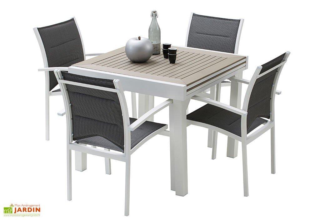 Table De Jardin 4 Places Extensible destiné Table Jardin 4 Personnes