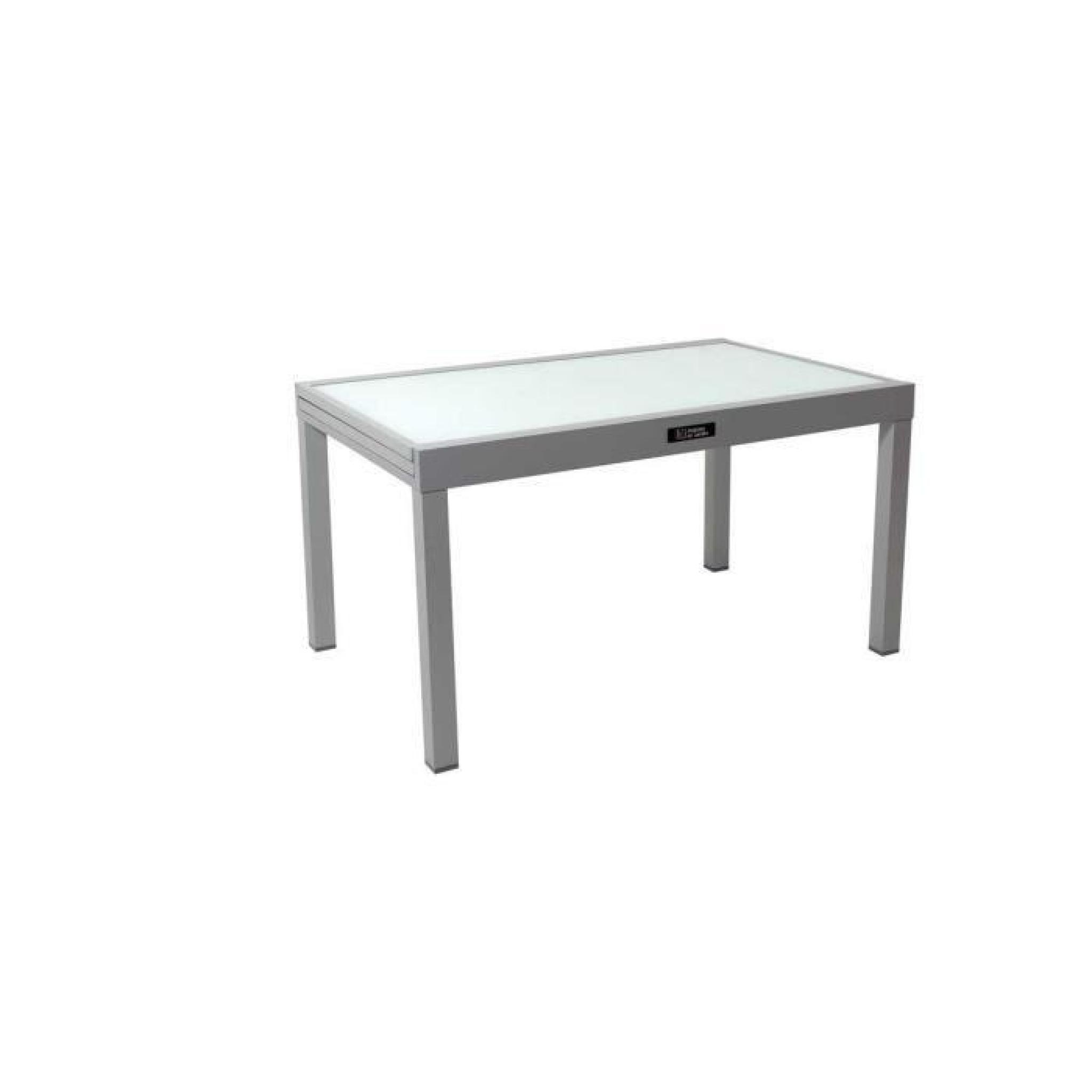 Table De Jardin Aluminium Extensible Porto 10 - Phoenix serapportantà Table De Jardin Extensible Pas Cher