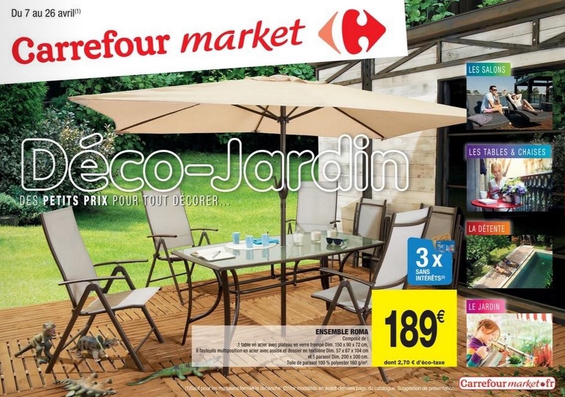 Table De Jardin Carrefour Market dedans Table De Jardin Pliante Carrefour