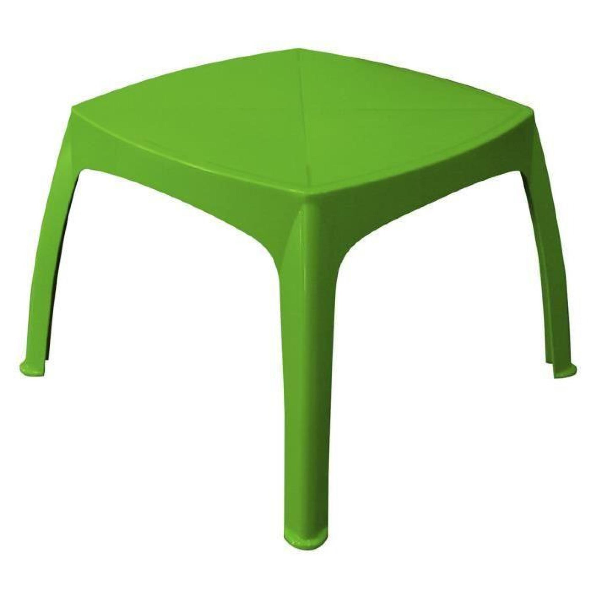 Table De Jardin Enfant Pistache - Achat/Vente Table De encequiconcerne Table De Jardin Pas Chere