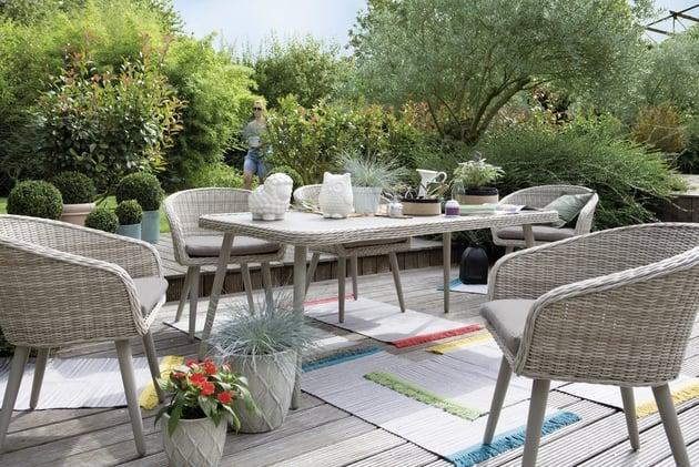 Table De Jardin Jardiland tout Table De Jardin Aluminium Jardiland