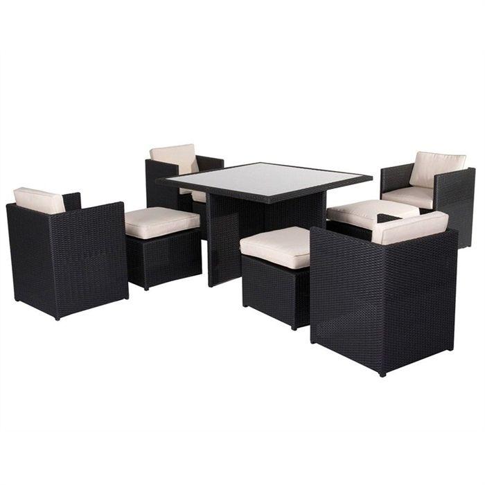 Table De Jardin Leclerc - Menuiserie dedans Salon De Jardin Pas Cher En Plastique Leclerc
