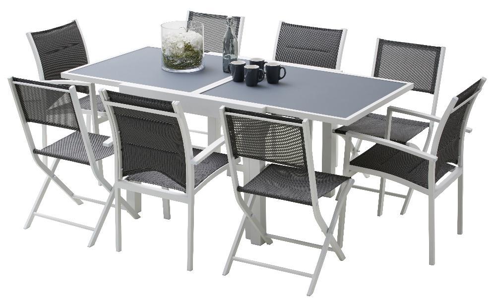 Table De Jardin Oslow avec Ensemble Repas Oslow Gifi