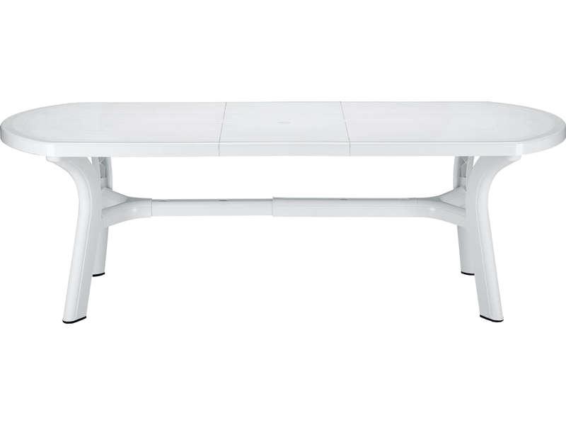 Table De Jardin Plastique Blanc tout Salon De Jardin Pas Cher En Plastique
