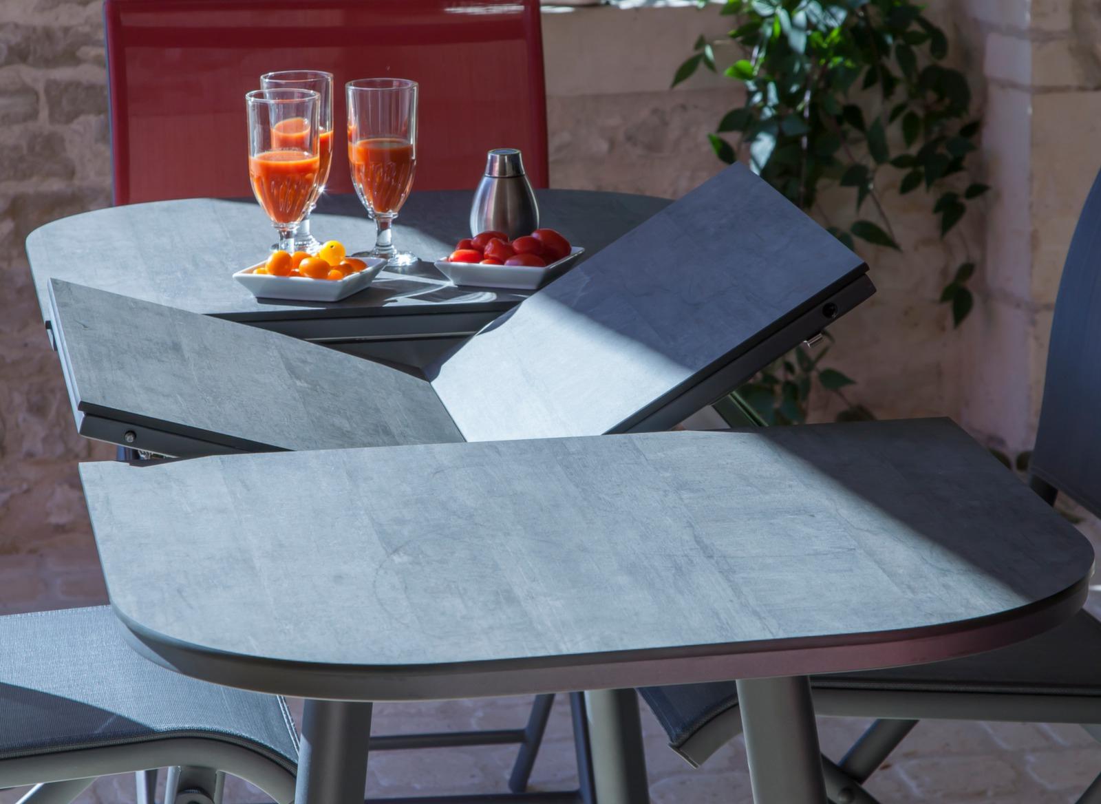 Table De Jardin Plateau Hpl serapportantà Kettler Table De Jardin