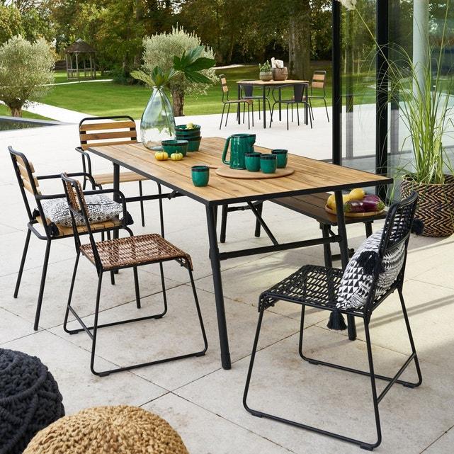 Table De Jardin Pliante Sohan La Redoute Interieurs | La pour Kettler Table De Jardin
