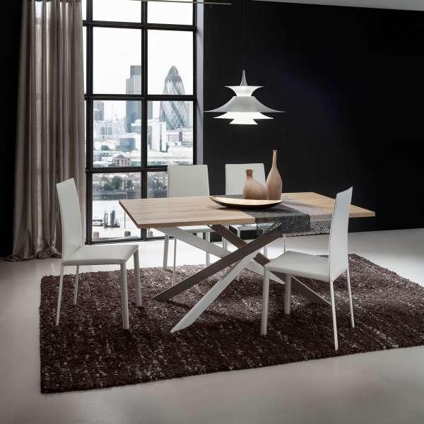 Table De Salle À Manger Design En Stratifié - Renzo | 4 intérieur Table A Manger Design