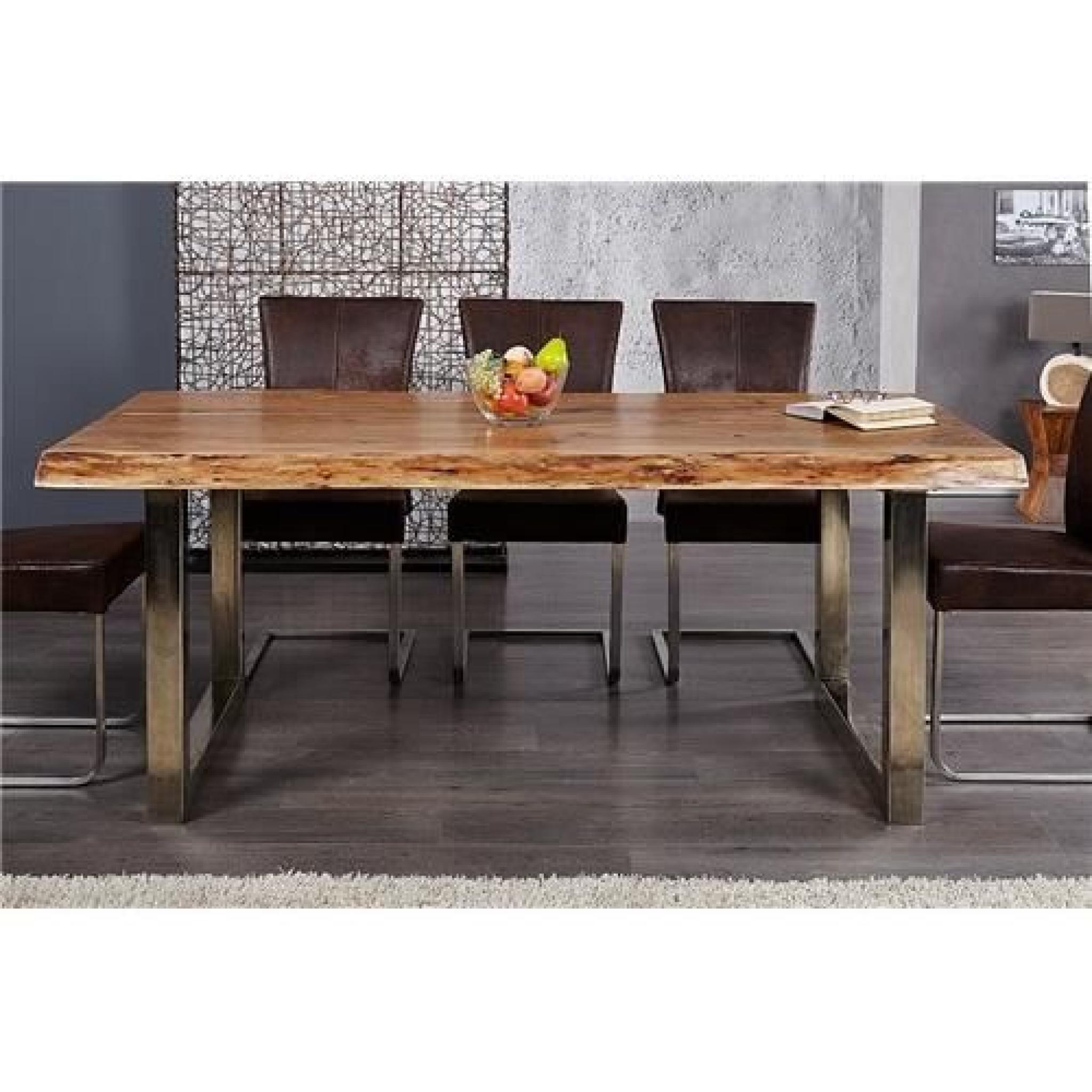 Table Design Akazio Bois destiné Table Salle À Manger Design Pas Cher