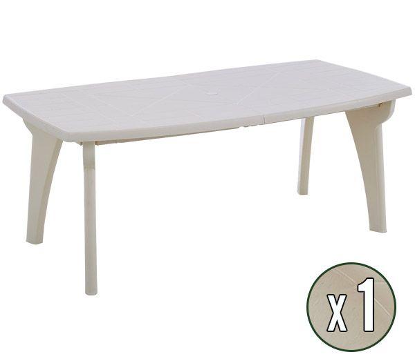 Table En Plastique De Jardin Pas Cher - L'Habis intérieur Salon De Jardin Pas Cher En Plastique