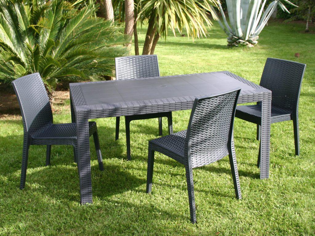 Table Et Chaise De Jardin Carrefour Market - Chaise-Tolix.fr concernant Table Et Chaise De Jardin En Resine