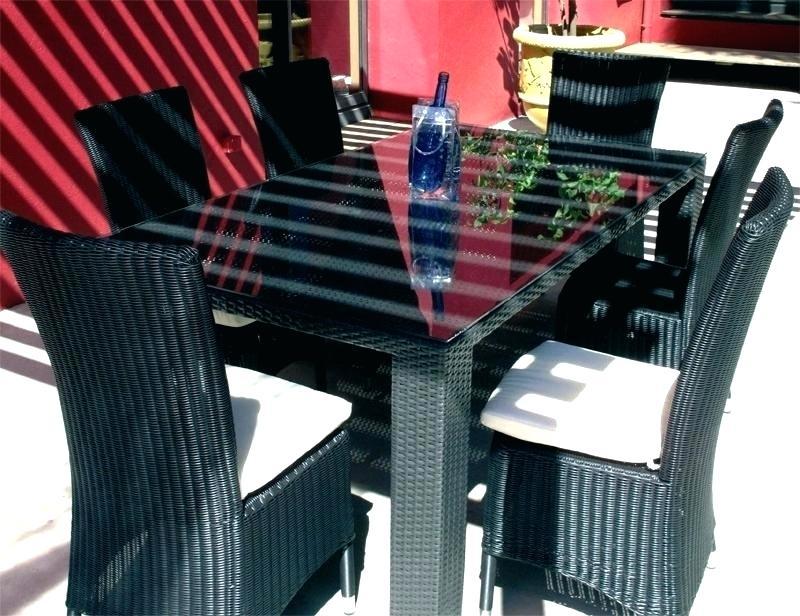 Table Et Chaise De Jardin En Resine Tressee - Jardin tout Table Et Chaise De Jardin En Resine