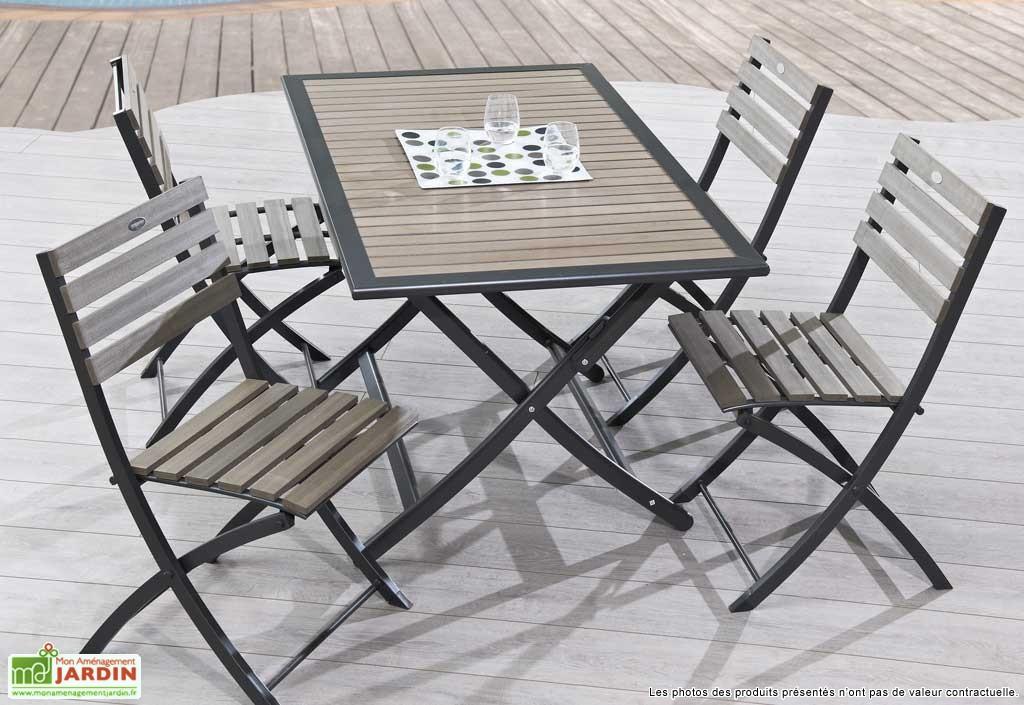 Table Et Chaise De Jardin Pliante Pas Cher - Veranda tout Chaise De Jardin Pliante Pas Cher