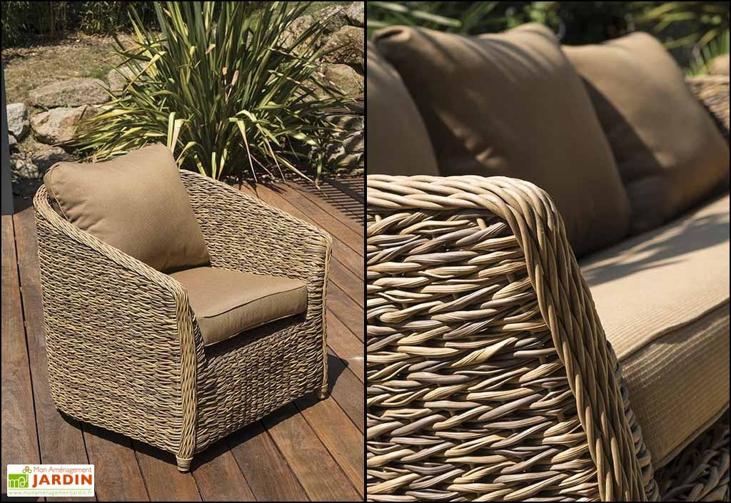 Table Et Chaise De Jardin Resine Tressee Havana - Chaise avec Table Et Chaise De Jardin En Resine