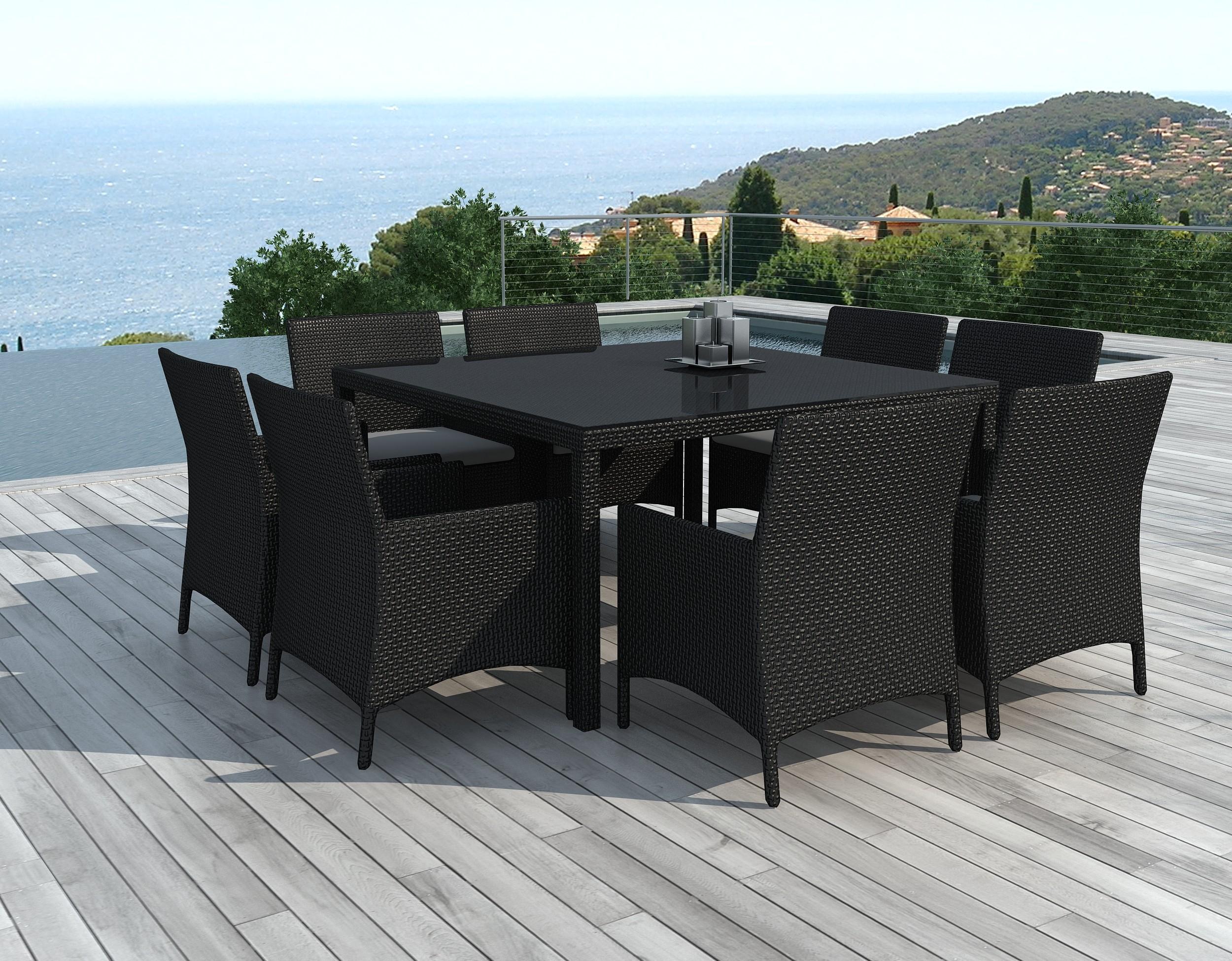 Table Jardin Avec Chaise concernant Table Et Chaise De Jardin En Resine