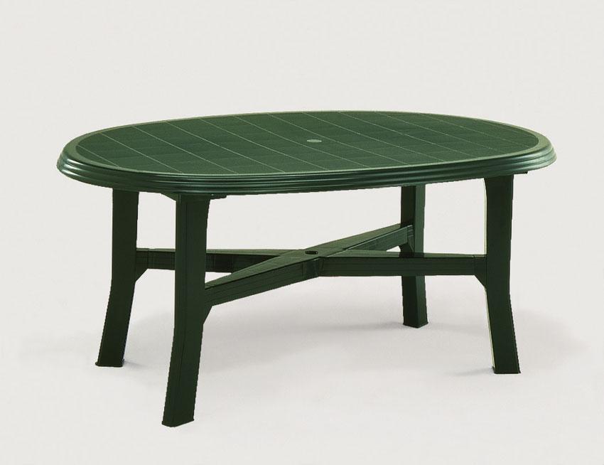 Table Jardin Verte - Menuiserie à Salon De Jardin Pas Cher En Plastique