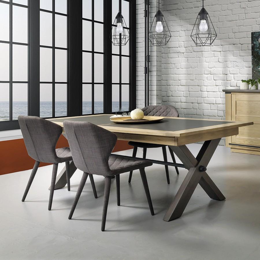 Table Plateau Céramique Style Atelier Collecvtion Magellan intérieur Table Salle A Manger Plateau Ceramique