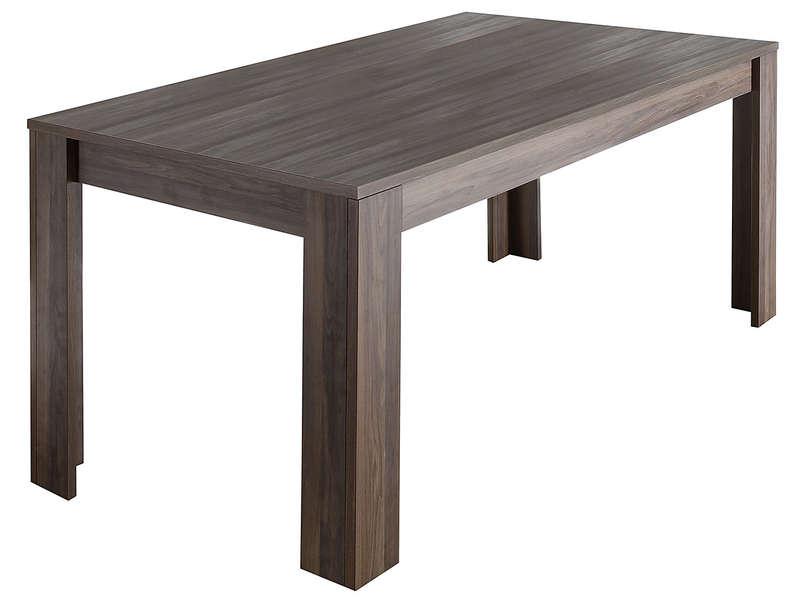 Table Rectangulaire 180 Cm Palma Décor Noyer - Vente De encequiconcerne Table Salle À Manger Conforama