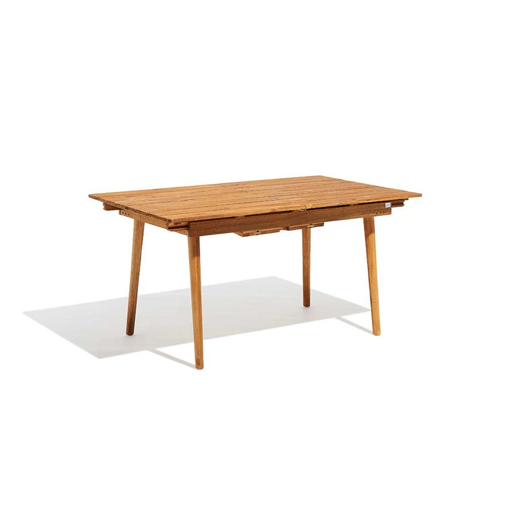 Table Rectangulaire Madeira Extensible 6/8 Personnes concernant Table Jardin 4 Personnes