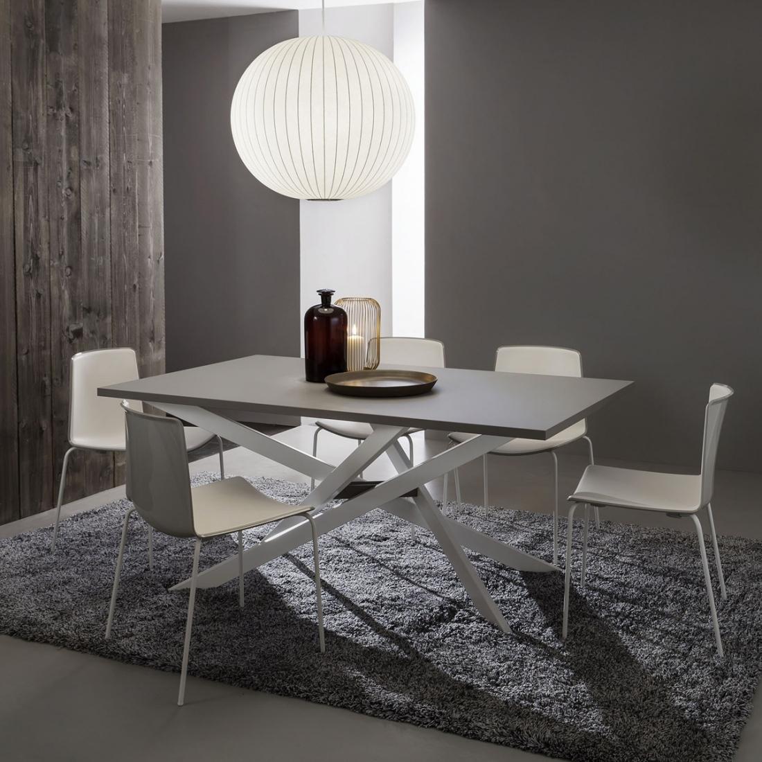 Table Salle A Manger Extensible Renzo - Zendart Design encequiconcerne Decor De Salle À Manger