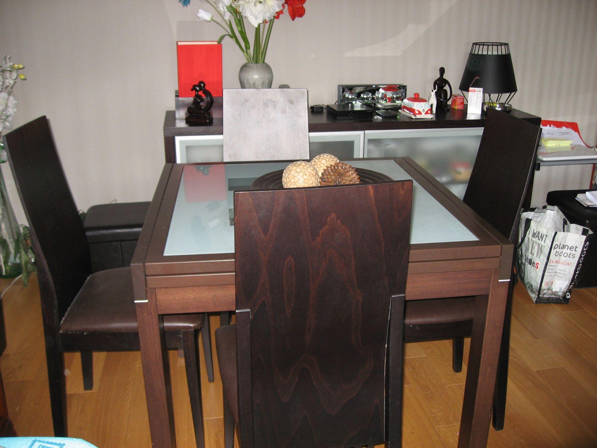 Table Salle À Manger Extensible serapportantà Table Salle A Manger Extensible Fly