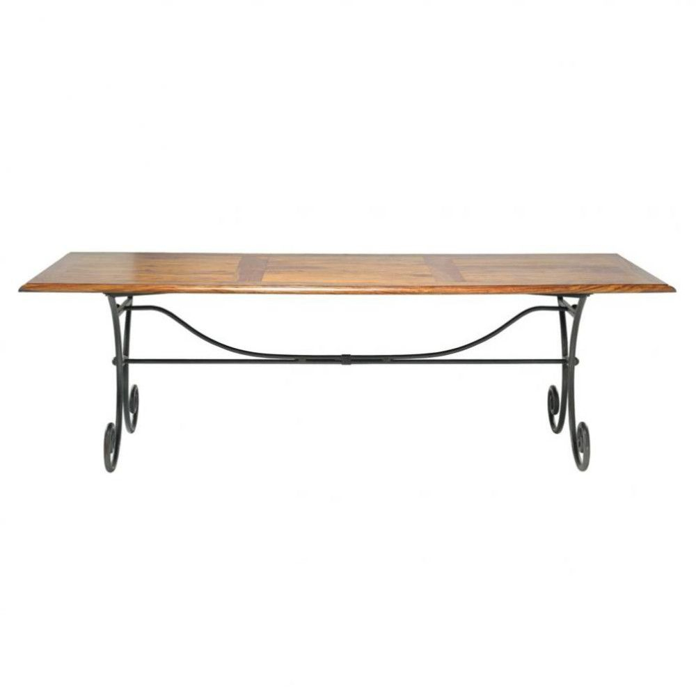 Tables Et Bureaux | Salle À Manger Bois, Table Salle À tout Table Salle A Manger En Fer Forgé
